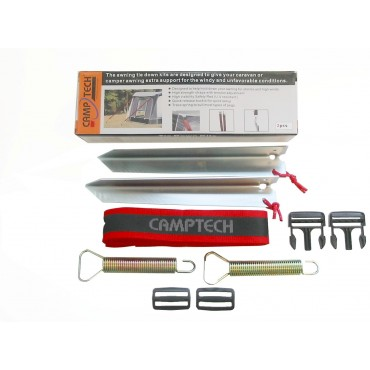 Camptech Awning Buckle Tie Down Kit - for Traditional Full & Porch Awnings