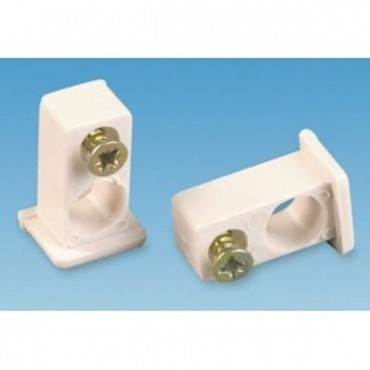 Caravan Swish Visa End Stops Curtain Fittings - Pack Of Two