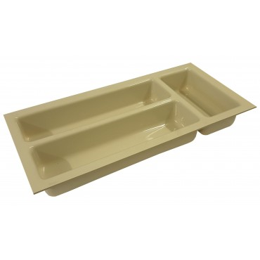 Small Drawer Cutlery Tray - Ivory