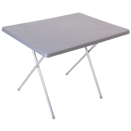 Quest Fleetwood Master Folding Camping Table - Grey