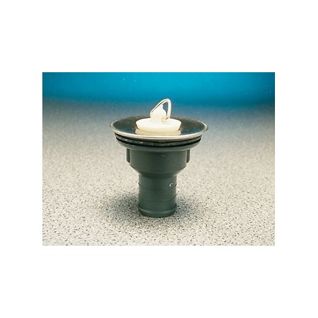 Sink/Basin Stainless Waste & Plug - 3/4""