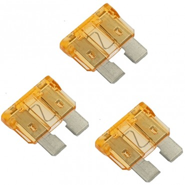 Standard Blade Fuses - Pack Of 3 - 5A