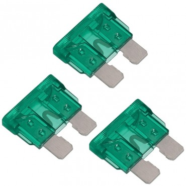 Standard Blade Fuses - Pack Of 3 - 30A