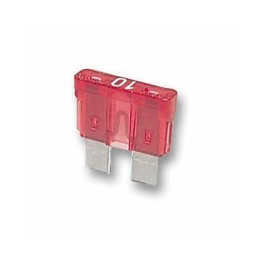 Standard Blade Fuses - Pack Of 3 - 10A