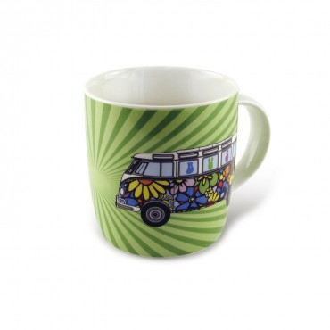 Volkswagen VW T1 Hippie Campervan China Tea / Coffee Mug