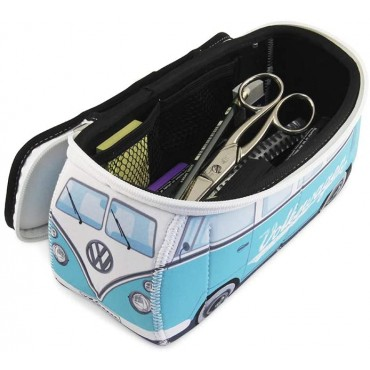 Volkswagen VW T1 Campervan Bus Neoprene Bag - Torquise - Small