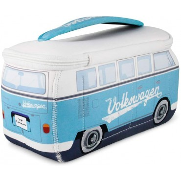 Volkswagen VW T1 Campervan Bus Neoprene Bag - Turquoise- Large