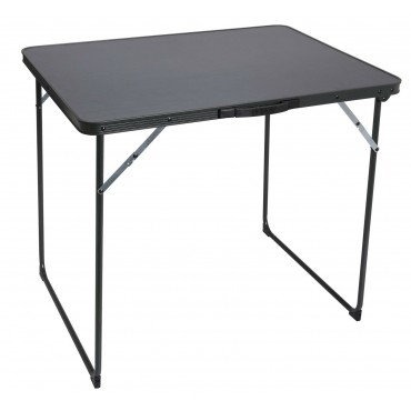 Quest Superlite Burford Black Edition Camping Table - 80 x 60 cm