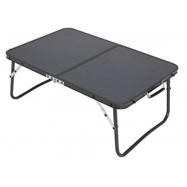 "Quest Superlite ""The Witney"" Black Low Folding Table - 40 X 60cm"