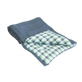 Large Single Sleeping Bag 100% Cotton Inner - Cascade - Quest