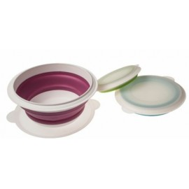 Compact Collapsible Silicone Bowls - 3 Piece Set