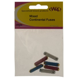 Mixed Pack of 12v Continental Fuses