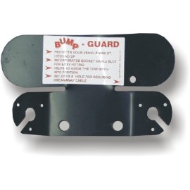 Bump Gaurd Twin Socket - Large Black