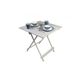 Leaf 70cm Medium Alloy Slat Folding Camping Table