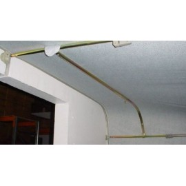 Caravan Awning Curved Roof Raiser Steel Pole - Longer Length