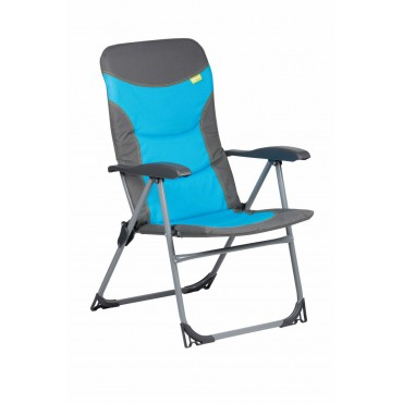 Kampa Skipper Reclining Camping Chair - Blue