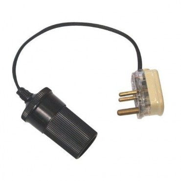 Caravan Plug To Cigar Socket Convertor 3-Pin (W4ai2)